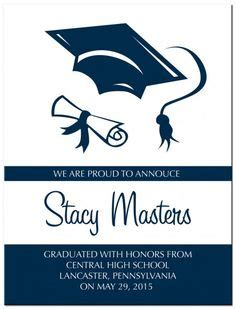 Graduation Celebration Card Design Templates by 1000 Images About Ideas For Graduation Invites On