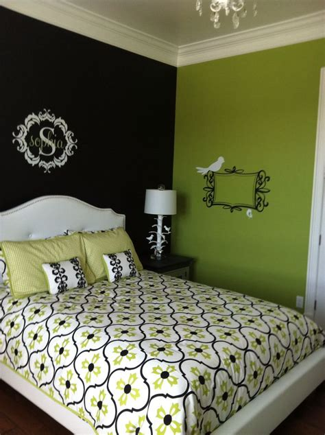lime green bedrooms ideas  pinterest lime