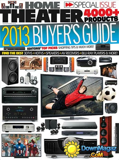 home theater buyer s guide 2013 187 pdf magazines