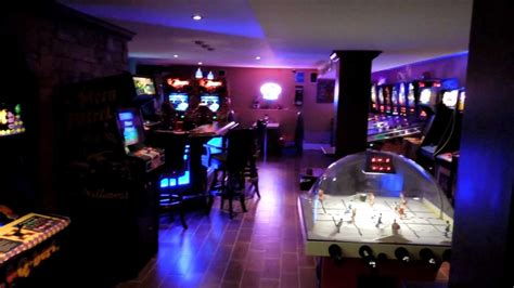 home arcade mancave ultimate gameroom pinball