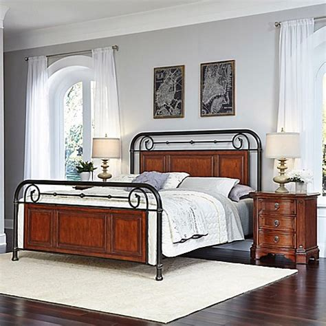 bed bath and beyond richmond home styles richmond hill 3 piece bed and nightstands set