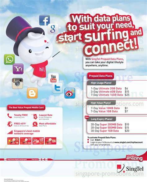Prepaid Gift Cards Singapore - hi card prepaid data plans 187 singtel smartphones tablets home mobile broadband