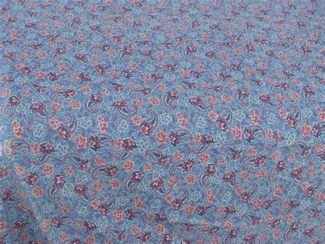 feather tick comforter vintage paisley print cotton quilt feather bed tick or