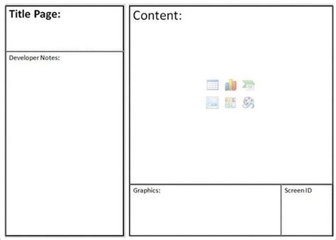 Website Storyboard Templates 9 Free Word Excel Pdf Ppt Format Download Free Premium Html Page Template