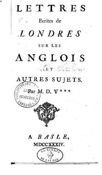 Cartas Filósoficas – Wikipédia, a enciclopédia livre