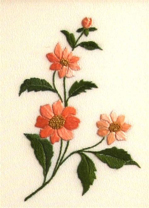 embroidery design flower 146 best images about chinese japanese vietnamese hand
