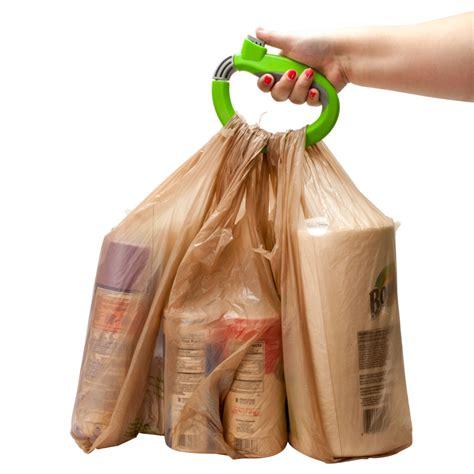 One Trip Grip Shoping Bag Bags Holder Tas Travel Belanja Shop Sh one trip lock handle soft grip grocery shopping bag