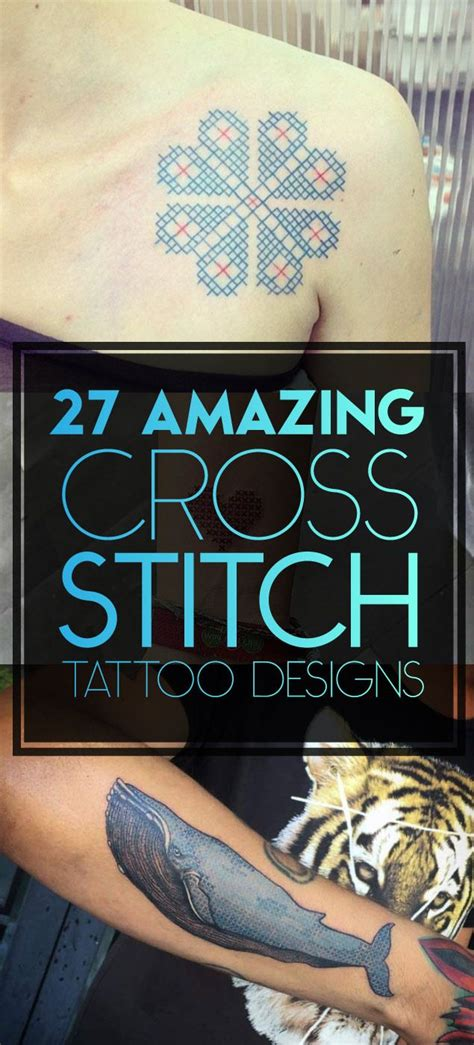 cross stitch tattoo 25 best ideas about cross stitch on