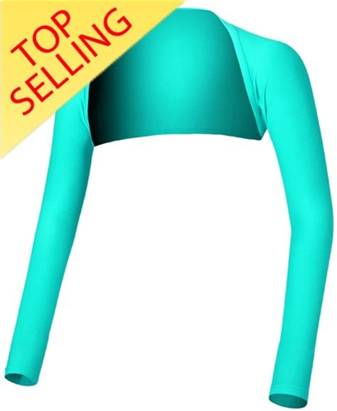 Grosiran Golf Armsleeves Anti Uv Special Design By Taylormade shawl sleeves turquoise