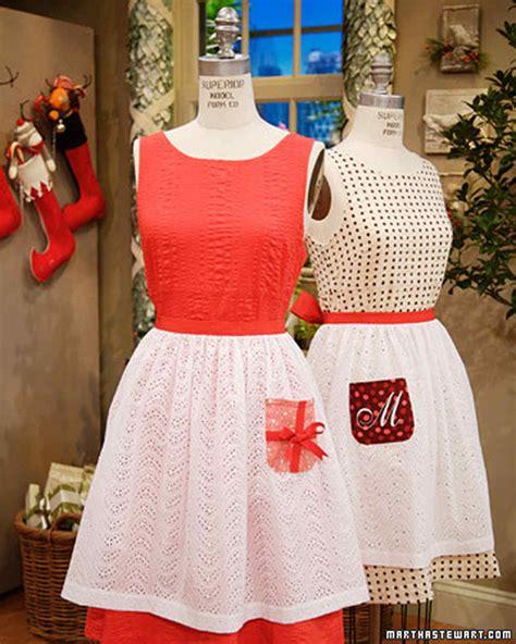 martha stewart easy christmas crafts apron