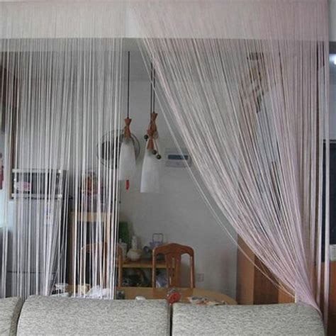 partition curtain home dzine home decor modern solutions for dividing open
