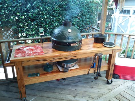 Big Green Egg Table For Sale by Big Green Egg Table For Sale Dallas Decorative Table