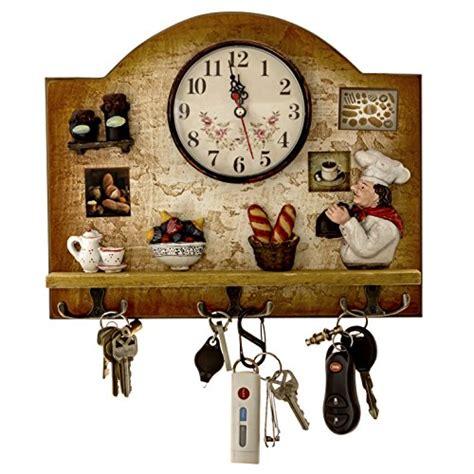 Italian Chef Kitchen Decor by Heartful Home Italian Chef Kitchen Decor Clock With