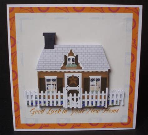 Handmade New Home Card Ideas - new home square card cup110152 66 craftsuprint