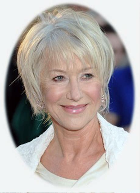 short hair for women with straight hair 60 and over hairstyles for mature women over 60