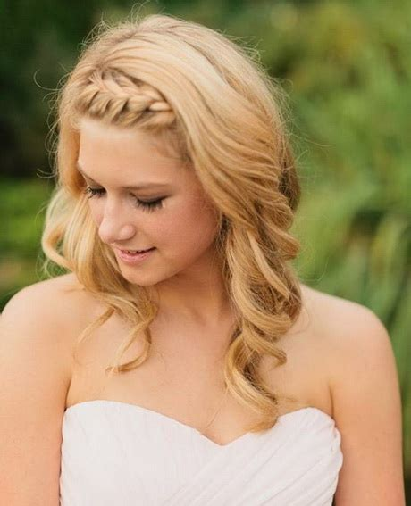 Wedding Hairstyles For Medium Length Hair To The Side by Wedding Hair Styles For Medium Length Hair