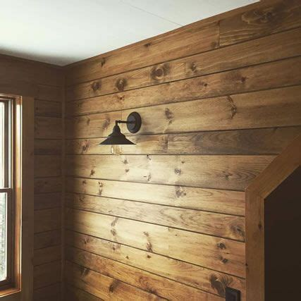 shiplap pine siding white pine shiplap paneling custom stained rustic ideas