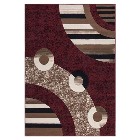 home design 7 x 10 sweet home stores clifton collection modern circles design