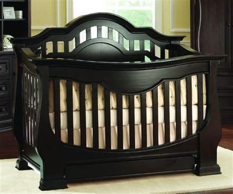 Cribs That Turn Into Size Beds by Baby Appleseed Beaumont Crib Espresso Buy Buy Baby