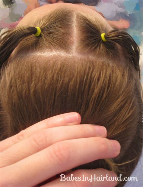 criss cross hair part hair parting techniques for zigzag criss cross part 25 five minute or less hairstyles that