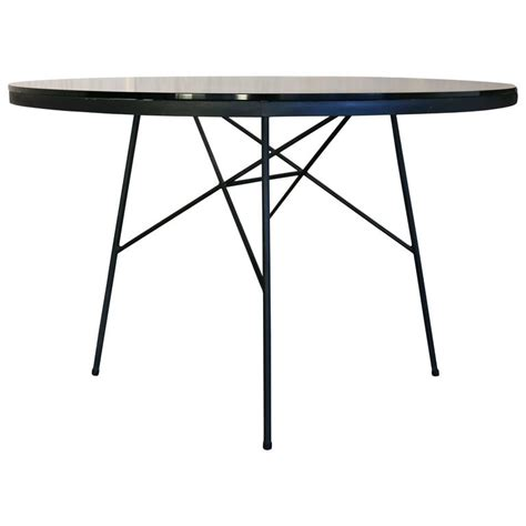 Iron And Glass Dining Table Iron And Glass Dining Table By Paul Mccobb For Arbuck At 1stdibs