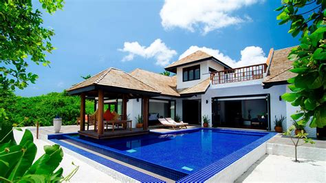 two bedrooms maldives family villa with pool luxury 2 bedroom family
