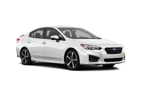 subaru impreza 2018 sedan 2018 subaru impreza sedan pricing for sale edmunds