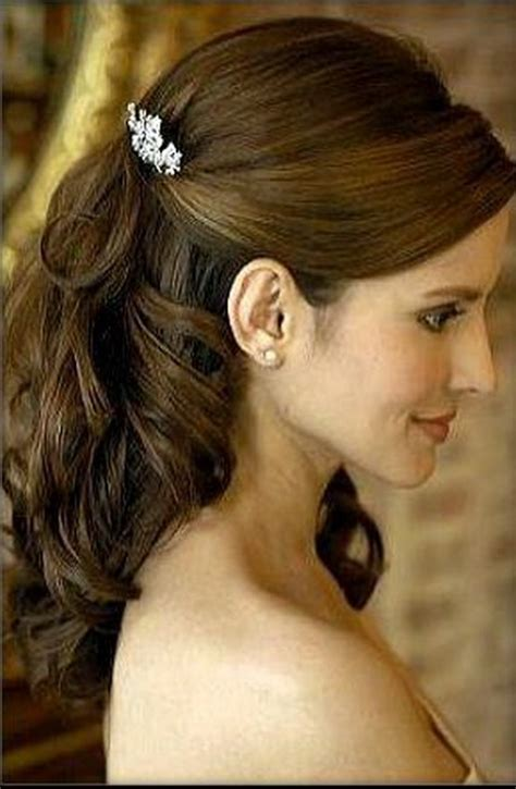 wedding hairstyles half up half down for short hair half up half down hairstyles for short hair