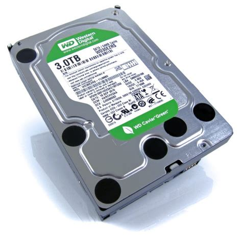 Harddisk Wd 3tb Wd Caviar Green 3tb Drive Review Hothardware