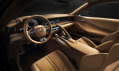 lexus lc interior interior design of the new lexus lc 500 lexus
