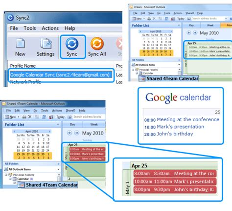 Calendar Sync How To Sync Outlook Calendars With Calendars 2017