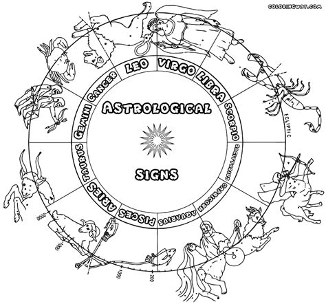 coloring pages zodiac signs zodiac signs coloring pages coloring pages to