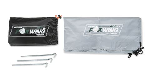 foxwing awning walls foxwing eco awning side wall 31118 rhino rack
