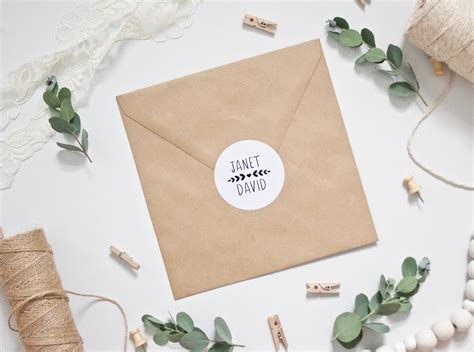personalised wedding stickers for envelopes custom stickers personalised wedding envelope stickers
