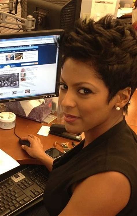 tamron hall haircut today tamron hall short hairstyle