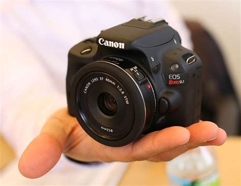 canon eos rebel sl1 dslr canon eos rebel sl1 a small entry level dslr true world