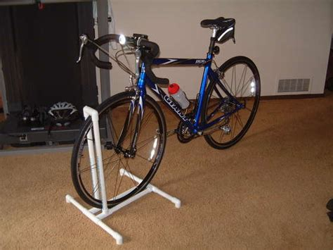 diy bike rack pvc diy pvc bike stand rack half tri ing