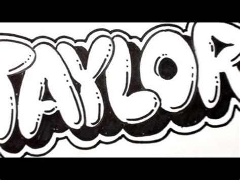 doodle name carlo how to draw letters doodles