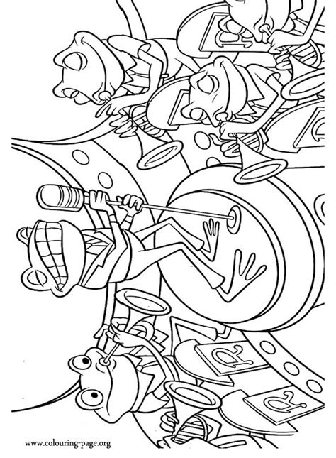 coloring book band 71 best frog coloring pages images on frog