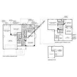 oakwood floor plans carlisle model in the oakwood subdivision in grayslake