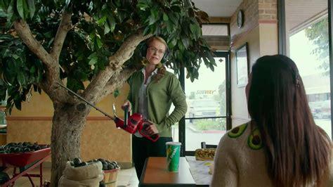 xfinity commercial actress glasses subway turkey and bacon avocado tv spot avocado love