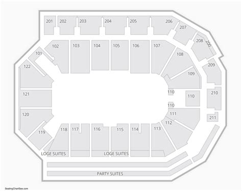 ppl center seating chart seating charts