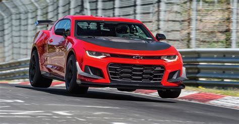 2018 chevy camaro zl1 1le sets a nurburgring record the