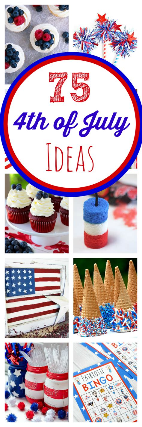 the ultimate 4th of july roundup decorations food