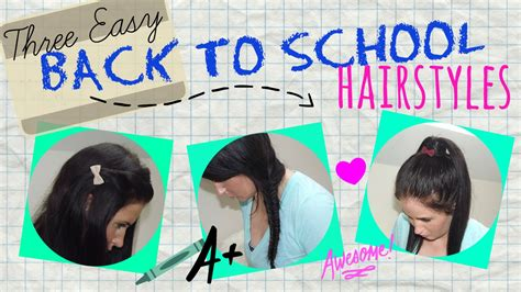 back to school hairstyles ariana grande three easy back to school hairstyles ariana grande