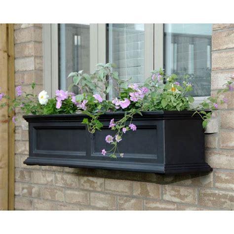 48 inch window box water reservoir planter bellacor