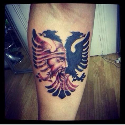 albanian tattoo headed albanian eagle sick shqiponja