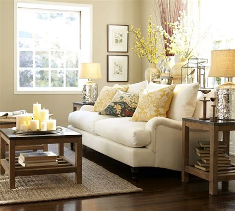 pottery barn livingroom pottery barn my living room inspiration