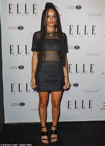 zoe kravitz casual outfits zoe kravitz wears sister act style costume for halloween