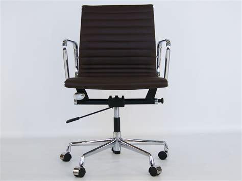 alu design helm chairs eames chair alu ea117 dark brown